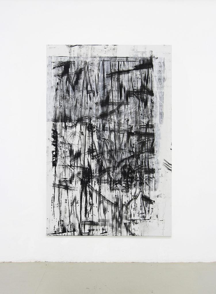《无穷》230x150cm,综合技法布面,2017 2